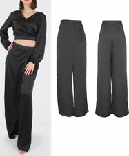 Unbranded Satin Loose Fit Trousers for Women