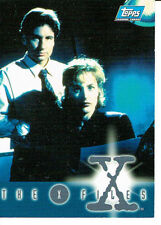 X-Files Topps Non-Sport Trading Cards & Accessories