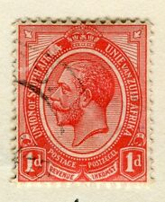 SOUTH AFRICA;  1913-24 early GV issue fine used 1d. value