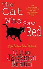 The Cat Who Saw Red (Jim Qwilleran Feline Whodunnit), Jackson Braun, Lilian, Goo