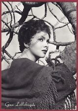 GINA LOLLOBRIGIDA 55 ATTRICE ACTRESS CINEMA MOVIE STAR PEOPLE Cartolina FOTOGRAF