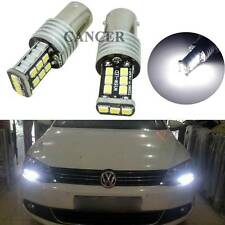 2pcs Error Free Xenon White LED Bulbs for MK6 Volkswagen Jetta Daytime DRL Light