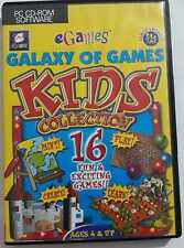 Galaxy Of Games-Kids Collection (16 lustige und aufregende Games) PC CD ROM Spiele