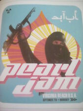 Pearl Jam Virginia Beach 1998 Yield Tour Poster 23x20cm from Book to Frame?