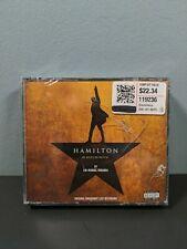 Hamilton Soundtrack Original Broadway Cast Recording.NEW SEALED CRACKED CASE