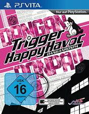 Danganronpa: Trigger Happy Havoc (Sony PlayStation Vita, 2014, Keep Case)