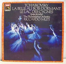 """33T TCHAIKOVSKY MUTI Disque LP 12"""" LAC DES CYGNES BELLE DORMANT EMI 2701131 RARE"""