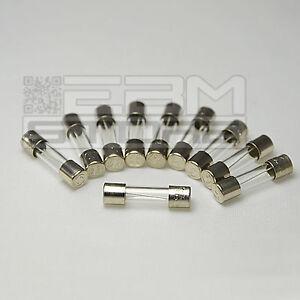 10 pz fusibili rapidi 500 mA 250V - fusibile 5 x 20 mm - ART. FA04