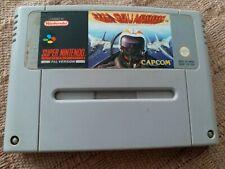 Juego UN Squadron Capcom SuperNintendo Snes