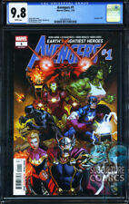 AVENGERS #1 - FIRST PRINT - MARVEL COMICS - CGC 9.8 - RELAUNCH 2018 - SOLD OUT
