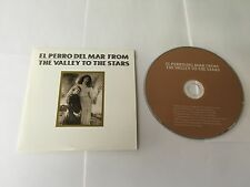 El Perro Del Mar ‎– From The Valley To The Stars Memphis Industries ‎PROMO CD