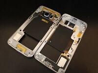 Samsung Galaxy S6 Edge SM-G925F Genuine Middle Frame NFC Power Volume Blue