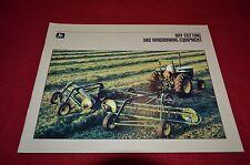John Deere Hay Cutting & Windowing Equipment For 1986 Dealers Brochure DCPA
