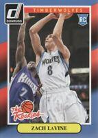 2014-15 Donruss The Rookies #7 Zach LaVine Minnesota Timberwolves