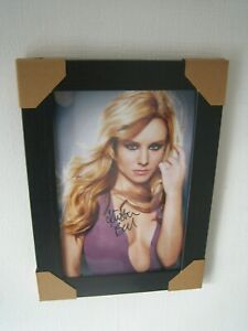 Kristen Bell Gorgeous Sexy Hand Signed Photograph (8x12)  Framed With CoA