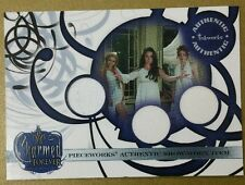 Charmed Forever PW 14 Phoebe Piper and Paige Triple Pieceworks Costume Card