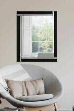 Black Glass Frame Decorative Mirrors