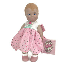 "Linda RIck The Doll Maker Lovey Dovey Baby Doll Dovey Dew 12"" Vinyl"