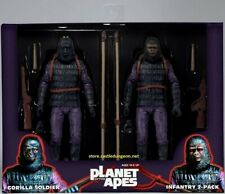 Gorilla Soldiers 2-pack Planet Of The Apes Classic Series 2 Neca Toys