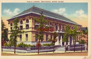 PUBLIC LIBRARY. PROVIDENCE, RHODE ISLAND