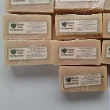 5 BARS TEA TREE OIL GOAT MILK SOAP DIRECT HAPPY GOAT CREAMERY PURE ESSENTIAL OIL