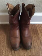 Red Wing Steeltoe boots 12D Pecos Brown Ropers Made In The USA