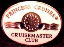 Princess Cruise Line CRUISEMASTER CLUB Pin Oval Mint
