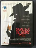 DVD GRANUJAS DE MEDIO PELO Tracey Ullman Hugh Frant Michael Rapaport WOODY ALLEN