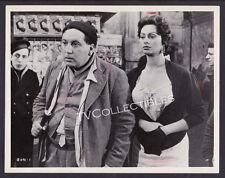 8x10 Original Photo~ THE GOLD OF NAPLES ~1954 ~Giacomo Furia ~Sophia Loren