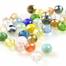 4mm 150pcs New Crystal Beads Czech Rondelle Jewelry Making Assorted Wholesale
