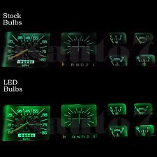 Dash Instrument Cluster Gauge Green SMD LED LIGHT BULB KIT Fit 80-86 Ford Bronco
