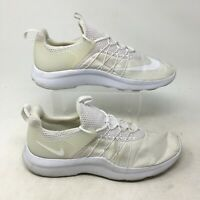 Nike Darwin Sneakers Running Trainer Shoes Low Top Lace Up Mesh White Womens 11