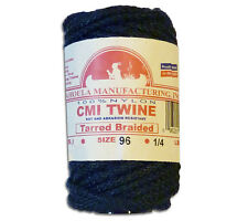 Catahoula No 96 Tarred Braided Bank Line 4 oz Spool 50 ft Nylon Twine