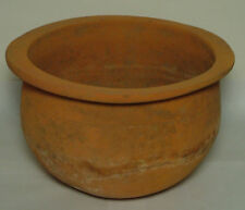 Genuine ancient Roman ceramic wheel made clay vessel/Jug/Vase/pottery Kylix RARE