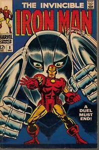 The Invincible Iron Man #8 VF-