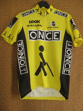 Maillot cycliste ONCE etxeondo Team 1996 Jersey cycling Vintage - M