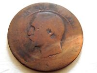1852-57-K French Ten Centimes Coin