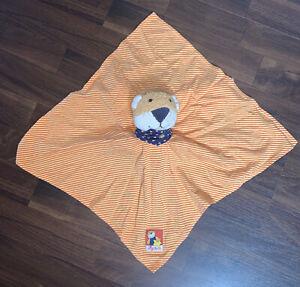 Sigikid Schmusetuch Kuschel Schnuffel Tiger Löwe Teddybär Gelb Orange Stern Blau
