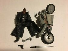 Marvel Legends Series 5 Toy Biz Blade Movie Action figure with motorcycle loose