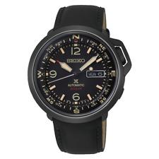 Seiko Prospex 43mm Black Coated Lumibrite SS Automatic Watch - SRPD35K1