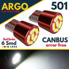 MERCEDES S211 W211 FRONT SIDE LAMP WHITE XENON 6 SMD LED T10 W5W 501 CREE
