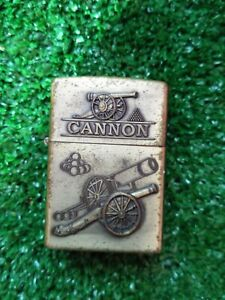 🟢Vintage Lighter Brass Ngling Cannon Style Zippo 1998🟢