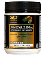New Zealand Green Lipped Mussel - Go Healthy 2600mg - 300 capsules