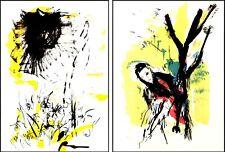 Ernesto Treccani - 2 serigrafie con Certificato - arte moderna e contemporanea