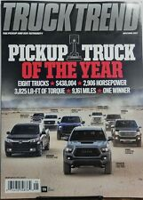 Truck Trend May June 2017 Pickup Truck of the Year One Winner FREE SHIPPING sb