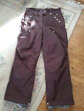 Brown  Trespass Ski Trousers Size Small