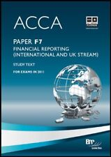 ACCA - F7: Financial Reporting (INT): Study Text By BPP Learning Media Ltd