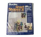Bucilla Plastic Canvas Kit BEAR HUGS Tissue Box Cover/ Switchplate Cover HTF