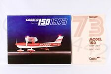 CESSNA Vintage 150 Brochure & Price List - Aircraft Factory 1973 Print USA Gift