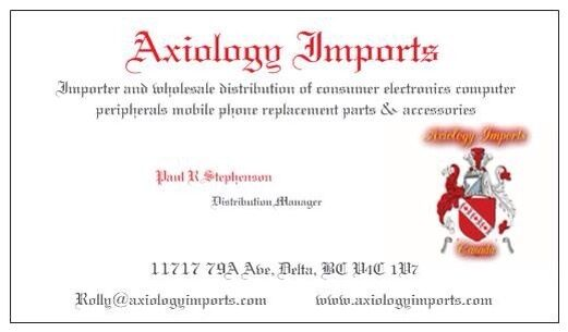 Axiology Imports